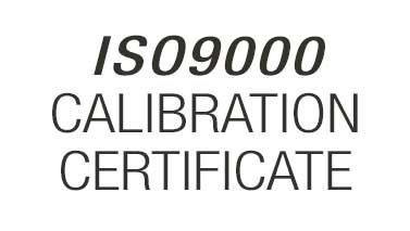 ISO9000 calibration certificate