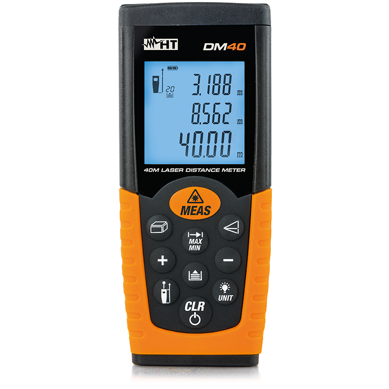 Laser distance meter with 40mt range