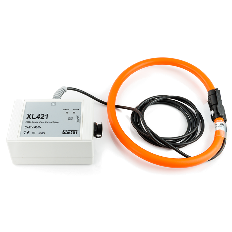 TRMS single-phase current Data Logger